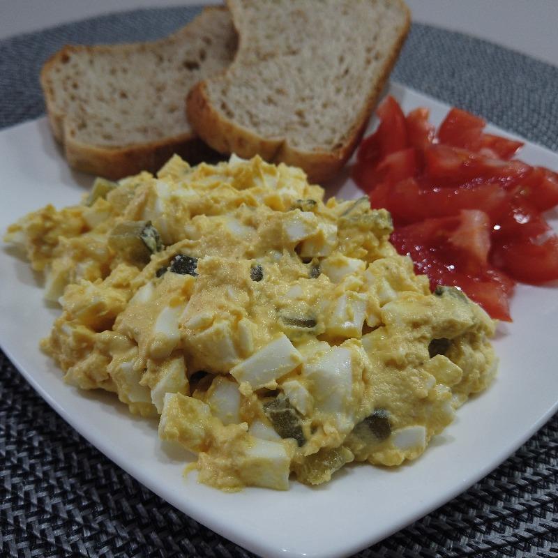 Salata de oua | Alina Fulberti
