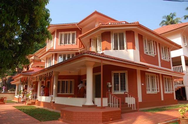 ashram building left